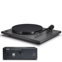 NAD C 556 Turntable Bundle with PP-4 Phono Preamplifier