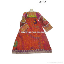 afghan dress vintage kuchi clothes