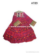 afghan dress, kuchi vintage frock