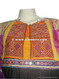tribal artwork dress, genuine handmade silk embroidery frocks