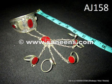 afghan traditional rings with bangles bracelets