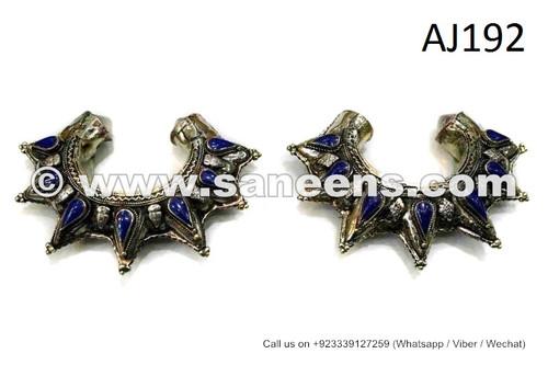 kuchi bangles with lapis stones
