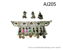 afghan kuchi jewelry set