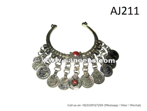 afghan kuchi ethnic necklaces chokers toq