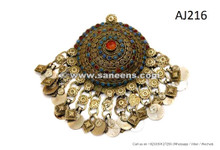 afghan kuchi pendants for belts and clothing