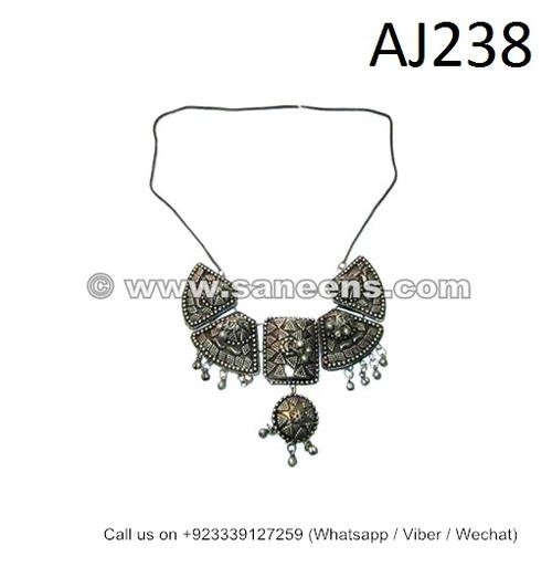afghan kuchi tribal necklaces chokers
