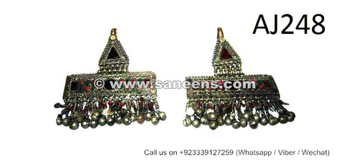 afghan kuchi hair jewelry