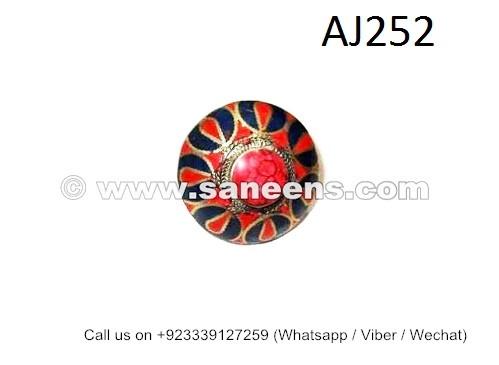 afghan kuchi handmade tribal rings