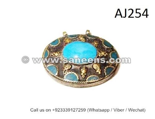 afghan kuchi jewelry pendants
