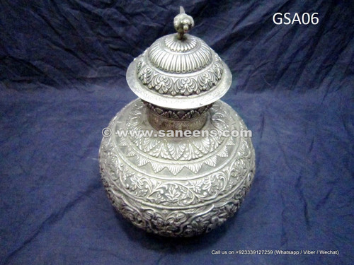 pure silver water pot