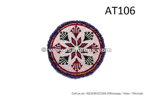 tribal kuchi banjara beads artwork medallions gul