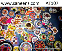afghan kuchi handmade tribal banjara medallions gul patch