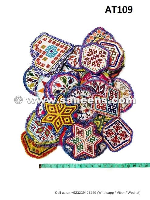 afghan kuchi handmade medallions