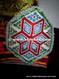 large medallions on vintage kuchi banjara dress choli ghagra