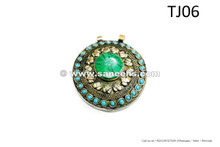 kuchi afghan jewelry pendants
