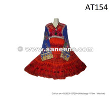 traditional afghan kuchi banjara dress vintage frock