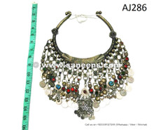 afghan kuchi tribal vintage necklace chokers