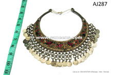 afghan kuchi tribal necklace chokers