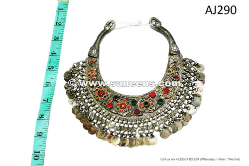 afghan kuchi necklaces chokers