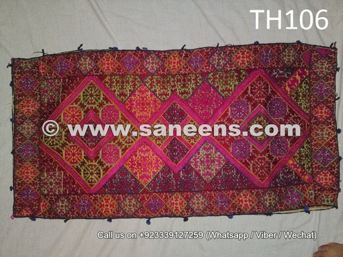 hand embroidered swat silk pillow covers online