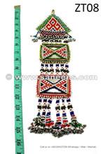 afghan kuchi beads work tassels