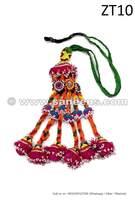 kuchi afghan traditional shoulder dangles tassels for dresses