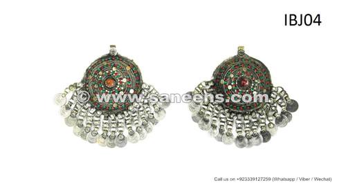 afghan kuchi handmade domes pendants