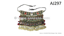 afghan kuchi handmade tribal chokers necklaces