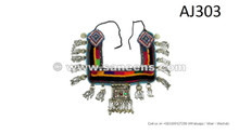 afghan kuchi tribal belts with dangles domes coins