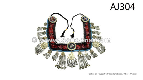 handmade afghan kuchi banjara fashion belts with long dangles