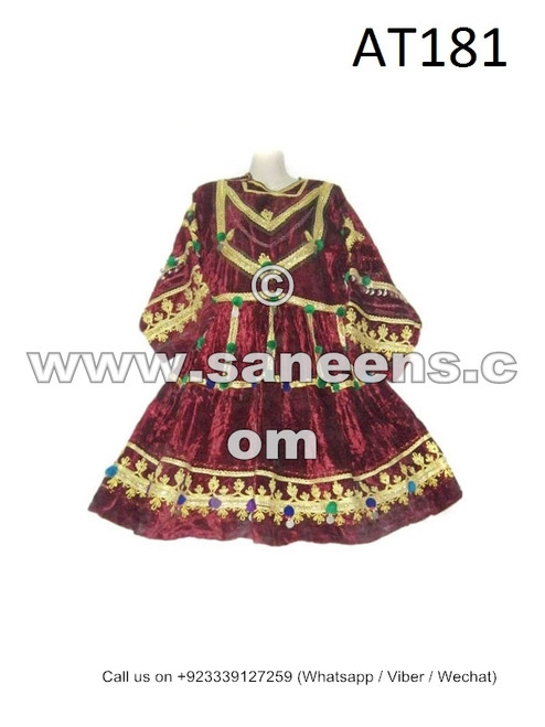 afghan kuchi tribal ethnic dresses frocks
