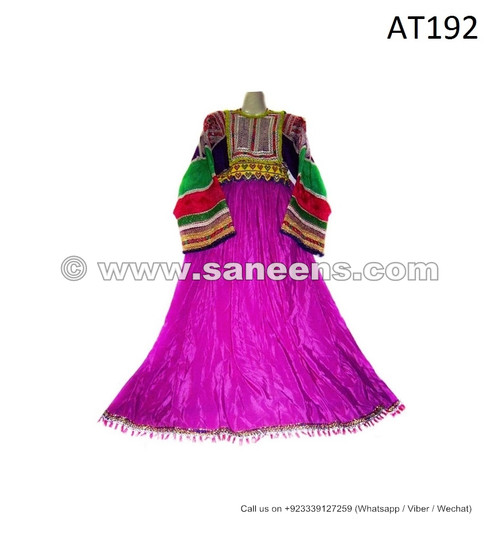 afghan kuchi ladies ethnic dress
