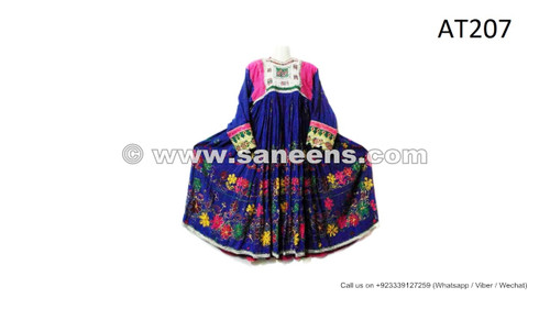 fashionable afghan pashtun ethnic clothes