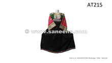 pashtun women casual embroidery work ethnic dresses frocks