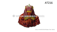 afghan kuchi ethnic clothes dress