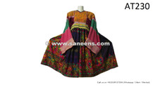 afghan pashtun embroidery work clothes