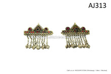 afghan kuchi jewellery barrettes hair clips