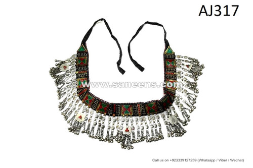 afghan kuchi tribal artwork belts