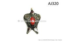 afghan kuchi tribal pendants for belts necklaces