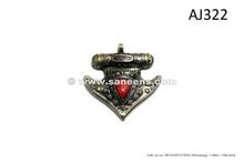 afghan kuchi handmade pendant