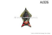 afghan kuchi handmade pendants for belts necklaces