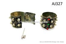 afghan kuchi spike bracelets