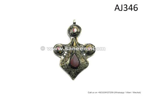 handmade afghan kuchi pendants