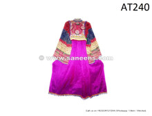 afghan kuchi tribal artwork dress