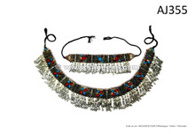 afghan kuchi handmade belts necklaces set