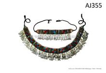 afghan kuchi handmade belts necklaces set