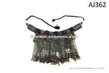 afghan kuchi tribal handmade necklaces chokers