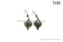kuchi afghan handmade earrings