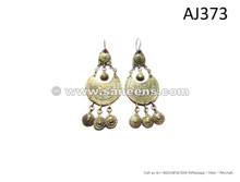 kuchi pashtun women handmade earrings