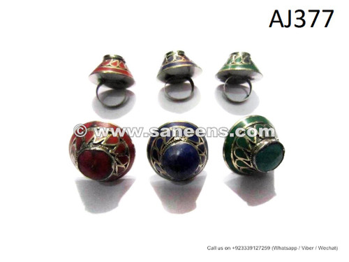 afghan kuchi tribal rings